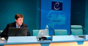 Олександр Дроздов виступв на семінарі «Успішне звернення до ЄСПЛ: від теорії до практики».