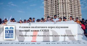Рішення у справі «Рашад Хасанов та інші проти Азербайджану» (переклад українською)