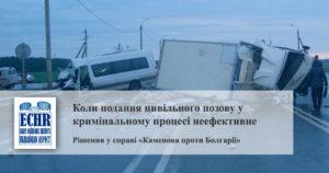 рішення у справі «Каменова проти Болгарії»