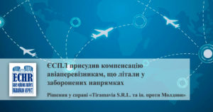 рішення у справі «Tiramavia S.R.L. та інші проти Республіки Молдова»