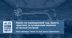 текст рішення ЄСПЛ у справі «Аксіс та інші проти Туреччини» (заява № 4529/06)