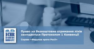 рішення ЄСПЛ у справі «Федулов проти Росії»