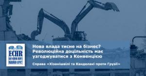 рішення у справі «Хізанішвілі та Канделакі проти Грузії»