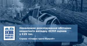 рішення ЄСПЛ у справі «Стефан проти Румунії»