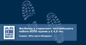 перевищення сили. рішення ЄСПЛ у справі «Міту проти Молдови»