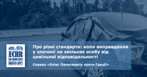 рішення ЄСПЛ у справі «Еліас Папагеоргіу проти Греції»